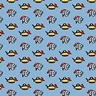 Pi and Pie Pirates pattern by jezkemp