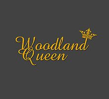 queen of woodland bed sheets by Kamikazekatze