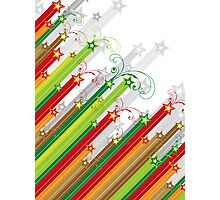 Festive Stars and Stripes Photographic Print