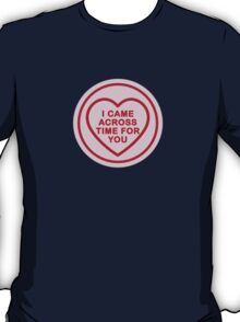 Geeky Love Hearts - Time T-Shirt