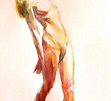 Raised Arm(Preliminary Study) by Josh Bowe