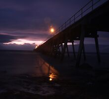 Port Hughes Jetty Pt.2 by Stuart Daddow Photography