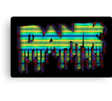 Dank - Motion Blur Canvas Print