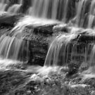 Chalk Creek Falls by Bill Morgenstern