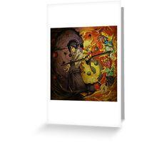 Naruto And Sasuke (Grunged) Greeting Card