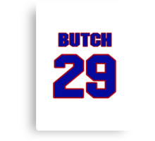 National baseball player Butch Nieman jersey 29 Canvas Print