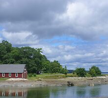 The Boathouse at Parker Point by Dr. Joan Kasoff  (Evie)
