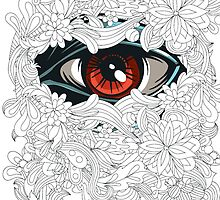Floral Eye by iRoN Design
