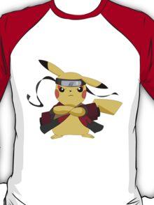 Pikachu Naruto T-Shirt