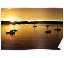 Batemans Bay Sunrise Poster