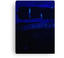 Blue no 43 Canvas Print