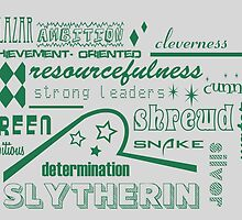 Slytherin by husavendaczek