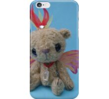 Phoenix Bear - Handmade bears from Teddy Bear Orphans iPhone Case/Skin
