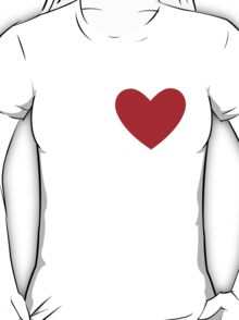 The only heart T-Shirt