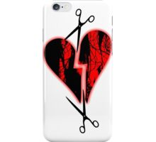 a broken heart iPhone Case/Skin