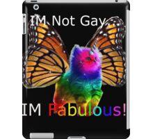 rainbow butterfly unicorn kitten iPad Case/Skin