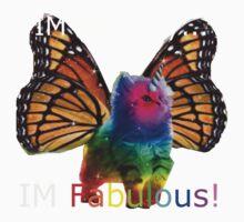 rainbow butterfly unicorn kitten Kids Clothes