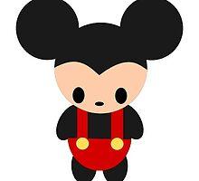 Mickey Chibi by Bl00dyroses-GEM