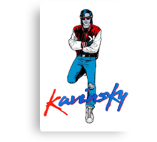 The Kavinsky Canvas Print