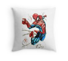 Swinging Into Action Throw Pillow