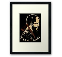 Team Floki - VIKINGS Framed Print