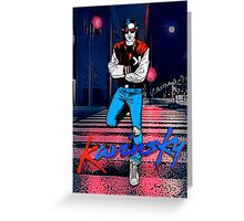 Kavinsky Down Town Greeting Card
