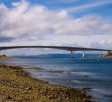 Clouds Sail Over Skye Bridge After Rain Has Gone by mayhurden