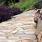 *Garden Path at Falls Cottage* by DeeZ (D L Honeycutt)