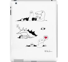 Ripped Monsters iPad Case/Skin