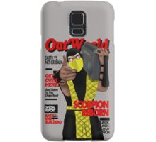 Scorpion On The Cover Samsung Galaxy Case/Skin
