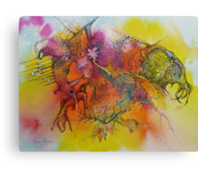 The Birdwatcher Canvas Print