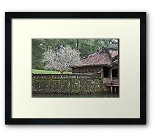 Monastery Tree Framed Print