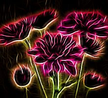 Glowing Bouquet by Judy Vincent