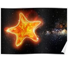 Star Shaped Star Poster