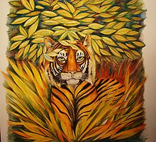 Sumatran Tiger by Catherine  Howell