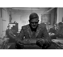 Turing Sculpture Photographic Print