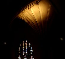 Church Interior II by ThomasBlair