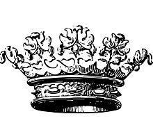 Vintage Crown Photographic Print