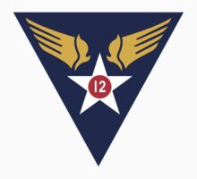 12th Air Force  WWII  USAAF T-Shirt