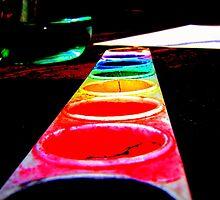 Paint the rainbow by merran