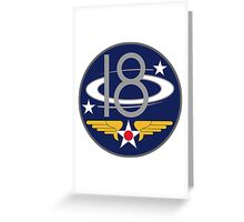 18th Air Force  WWII  USAAF Greeting Card