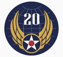 20th Air Force  WWII  USAAF T-Shirt