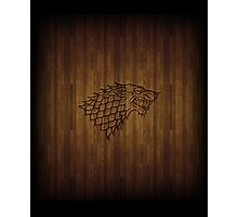 Wood Wolf Photographic Print