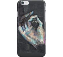 Muladhara - Root chakra mudra  iPhone Case/Skin