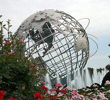 Unisphere- Corona Park, N.Y.  by Deb Hoffkins