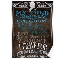 My Mind Rebels V2 Poster
