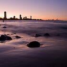 Burleigh Sunset by D Byrne