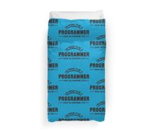i am proud to be a programmer Duvet Cover