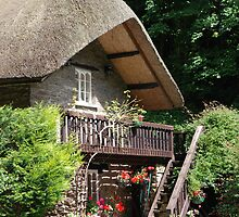 Devonshire cottage - Lynmouth by Mark Bateman