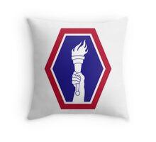 442nd Infantry Regiment - Regimental Combat Team Throw Pillow